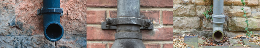 cast iron guttering installation