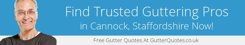 best Cannock guttering companies covering WS11
