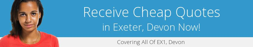 best Exeter guttering companies covering EX1