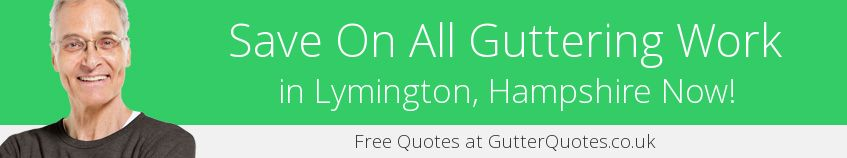 best Lymington guttering companies covering SO41