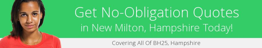 best New Milton guttering companies covering BH25