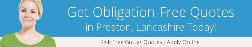 best Preston guttering companies covering PR1