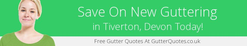 best Tiverton guttering companies covering EX16