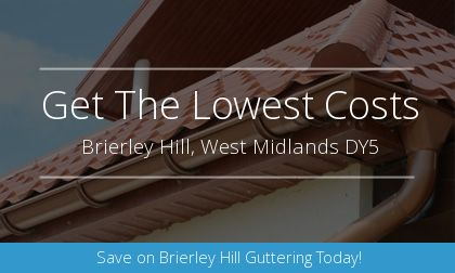 new gutter installation in Brierley Hill, West Midlands