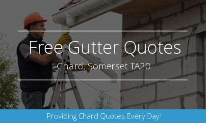 gutter installation in Chard, Somerset
