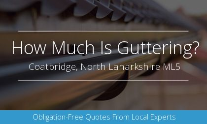 guttering installation in Coatbridge, North Lanarkshire