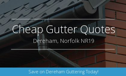 guttering installation in Dereham, Norfolk