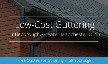 gutter installation in Littleborough, Greater Manchester