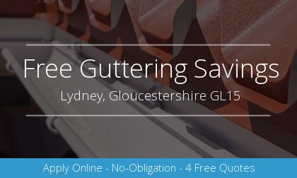new guttering installation in Lydney, Gloucestershire