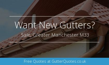 gutter installation in Sale, Greater Manchester