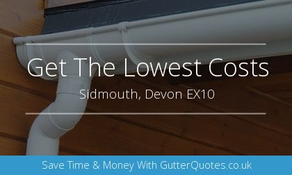 gutter installation in Sidmouth, Devon