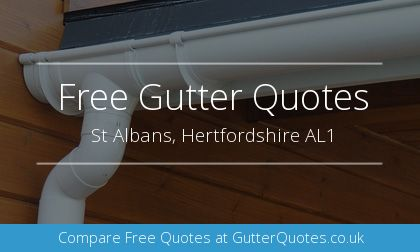 new guttering installation in St Albans, Hertfordshire