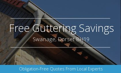 guttering installation in Swanage, Dorset