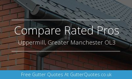 gutter installation in Uppermill, Greater Manchester