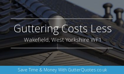 installation of gutters in Wakefield, West Yorkshire