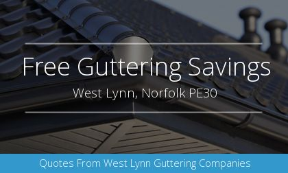 gutter installation in West Lynn, Norfolk
