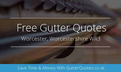 new guttering installation in Worcester, Worcestershire
