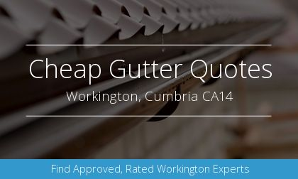installation of gutters in Workington, Cumbria