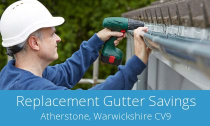 replacing Atherstone gutters