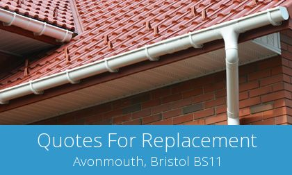 free Avonmouth gutter replacement costs