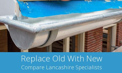 gutter replacement in Bacup, OL13