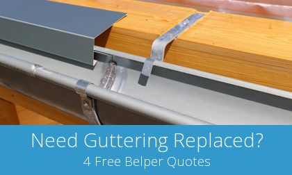 gutter replacement in Belper, DE56