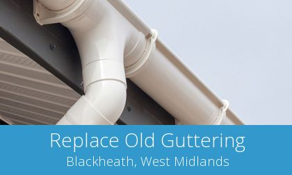 costs for gutter replacement in Blackheath