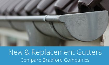 Bradford gutter replacement costs