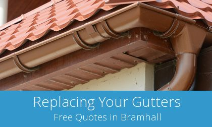 Bramhall replacement gutter costs