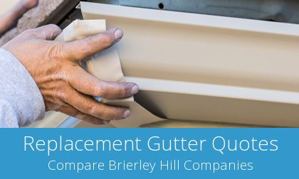 replacing Brierley Hill gutters