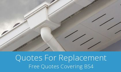 Brislington gutter replacement costs