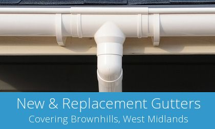 find Brownhills gutter replacement experts