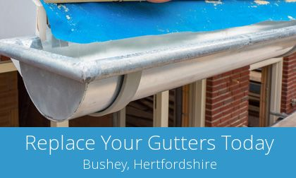 gutter replacement in Bushey, WD23