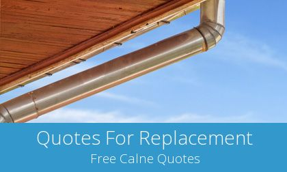 quotes for gutter replacement in Calne