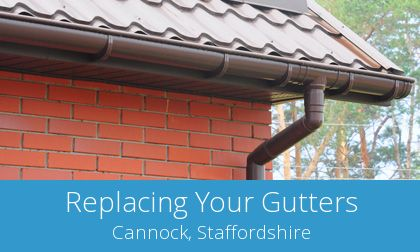 save on Cannock gutter replacement prices