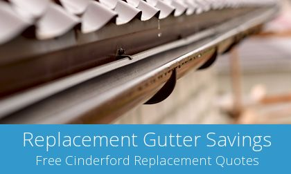 gutter replacement in Cinderford, GL14