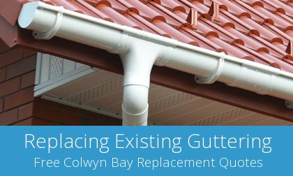 Colwyn Bay replacement gutter costs