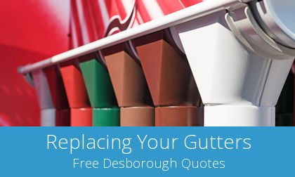 Desborough replacement gutter costs