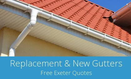 replacement Exeter gutters