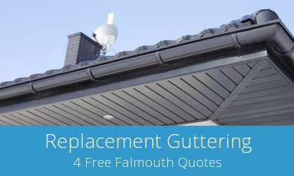 gutter replacement in Falmouth, Cornwall