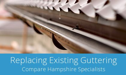 quotes for gutter replacement in Fareham