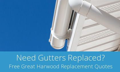 costs for gutter replacement in Great Harwood