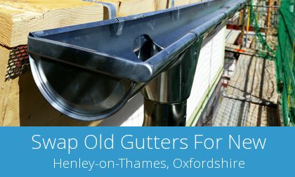 Henley-on-Thames replacement gutter costs