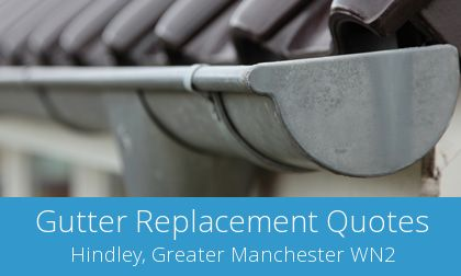 Hindley gutter replacement costs
