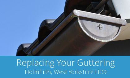 Holmfirth replacement gutter costs