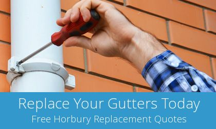 Horbury replacement gutter costs