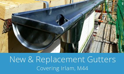 quotes for gutter replacement in Irlam
