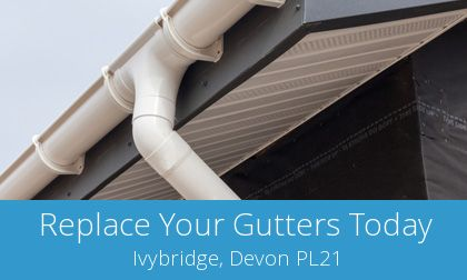 Ivybridge gutter replacement costs