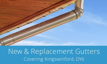 replacing Kingswinford gutters