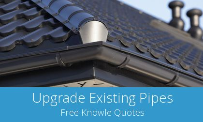 Knowle gutter replacement